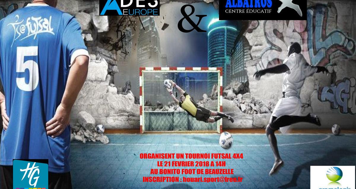 Tournoi de Futsall à Beauzelle
