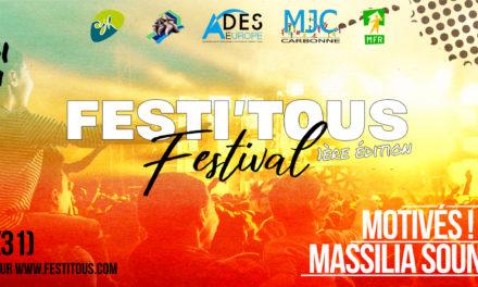 Flash info : Le nouveau festival Festi'Tous !