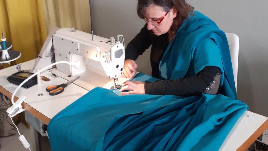 Les couturières d'Ô fil de soi ont fabriqué 200 masques pour les salariés d'Ades Europe