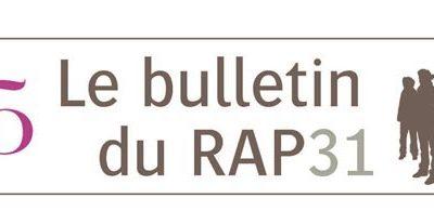 Le Bulletin du RAP31 N°25