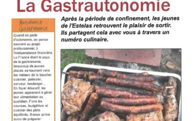 La Gastrautonomie – Journal'His – 09-2020