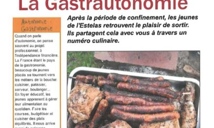 La Gastrautonomie – Journal'His – 09-2020