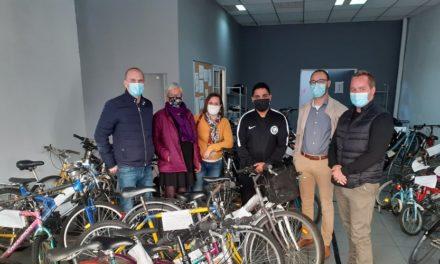 Plus de 700 vélos réparés depuis le mois de mai !