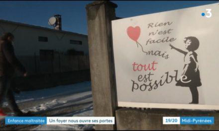 Reportage France 3 – Le Foyer Pyrène nous ouvre ses portes