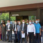 les acteurs du social et du médico-social d'Occitanie mobilisés devant le conseil départemental